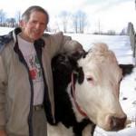 George Eisman and friend